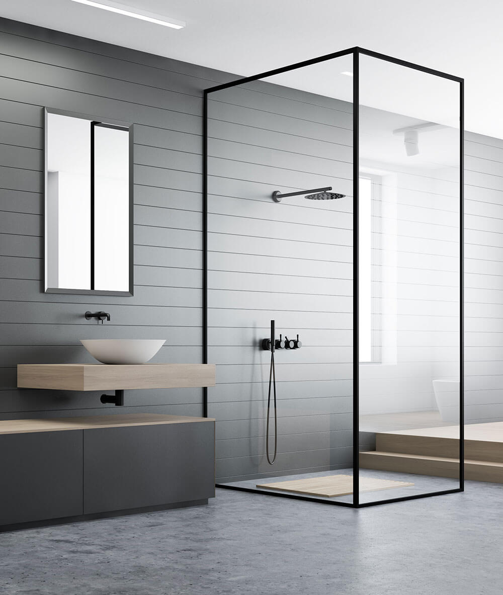 Mandurah modern design bathroom renovation
